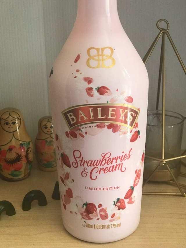 strawberries and cream baileys