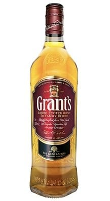 Grant's whisky bottle