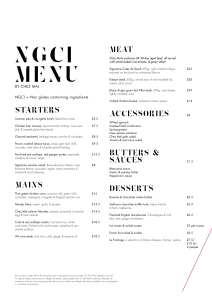 Gluten free menu Summer Malmaison foodie Explorers
