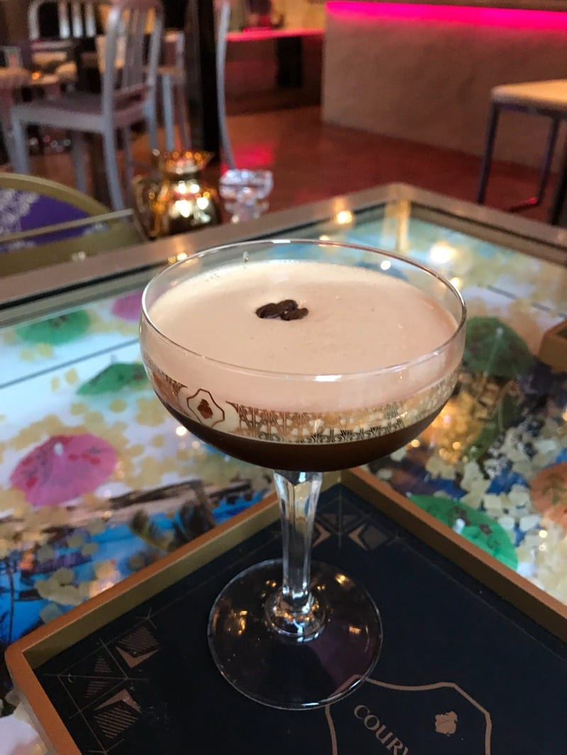 Courvoisier cocktails Corinthian Club Glasgow foodie explorers