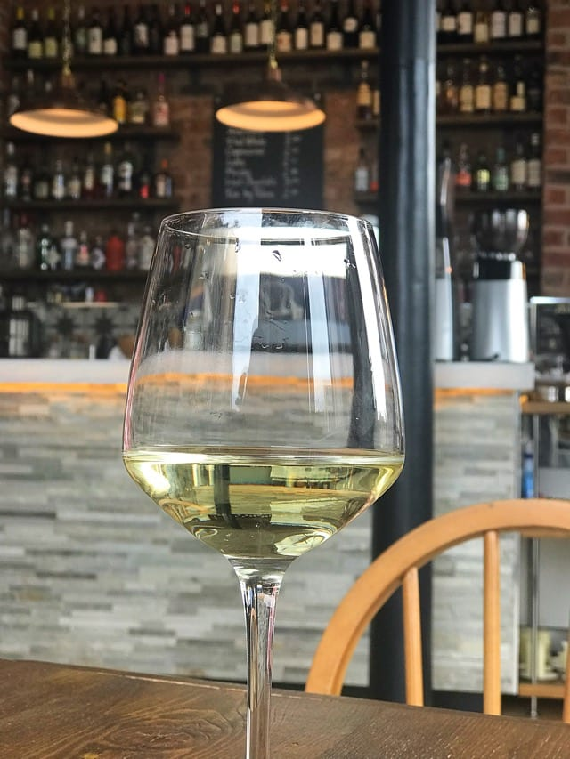 Riesling wine toast Leith