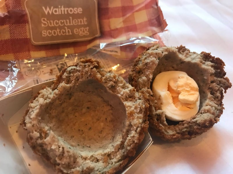 Waitrose succulent Scotch egg