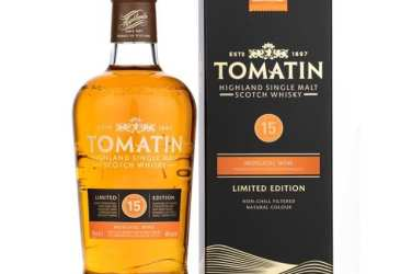 Tomatin moscatel single malt whisky