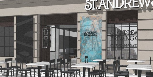 St. Andrews Brewing Co new dundee bar crowdfunding foodie explorers