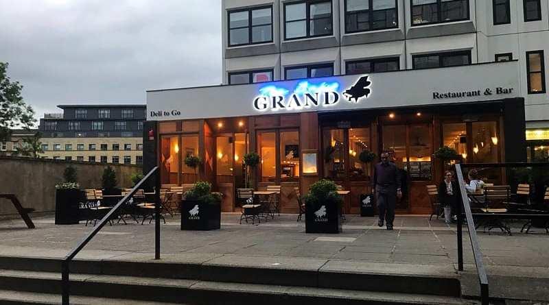 Baby Grand restaurant bar deli elmbank gardens Charing Cross Glasgow