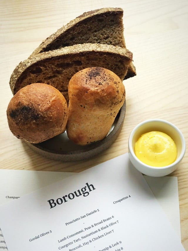Borough Restaurant Leith - Bread