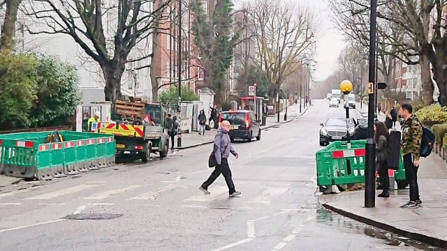 Visiting Abbey Road, London