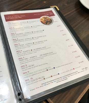 Beirut cafe Edgeware Road London Arabic food