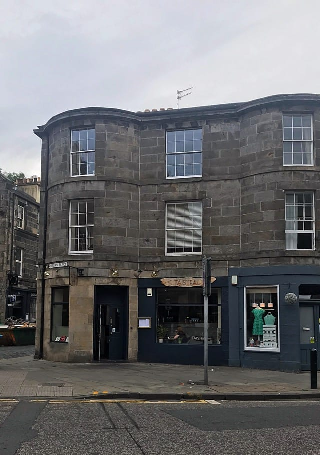 Taisteal Stockbridge edinburgh review foodie explorers