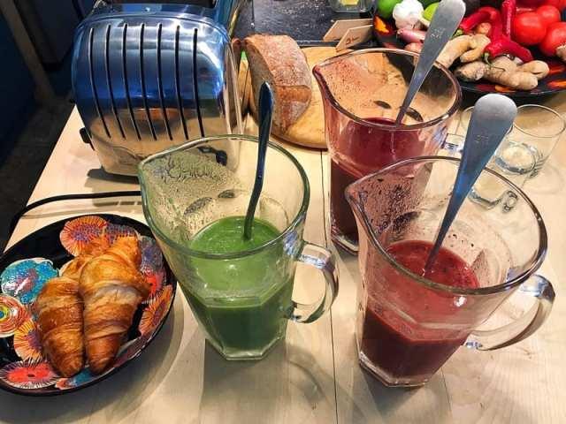 Chapel House breakfast