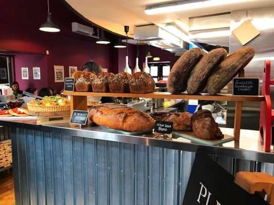 Singl-End cafe and bakehouse merchant city Glasgow
