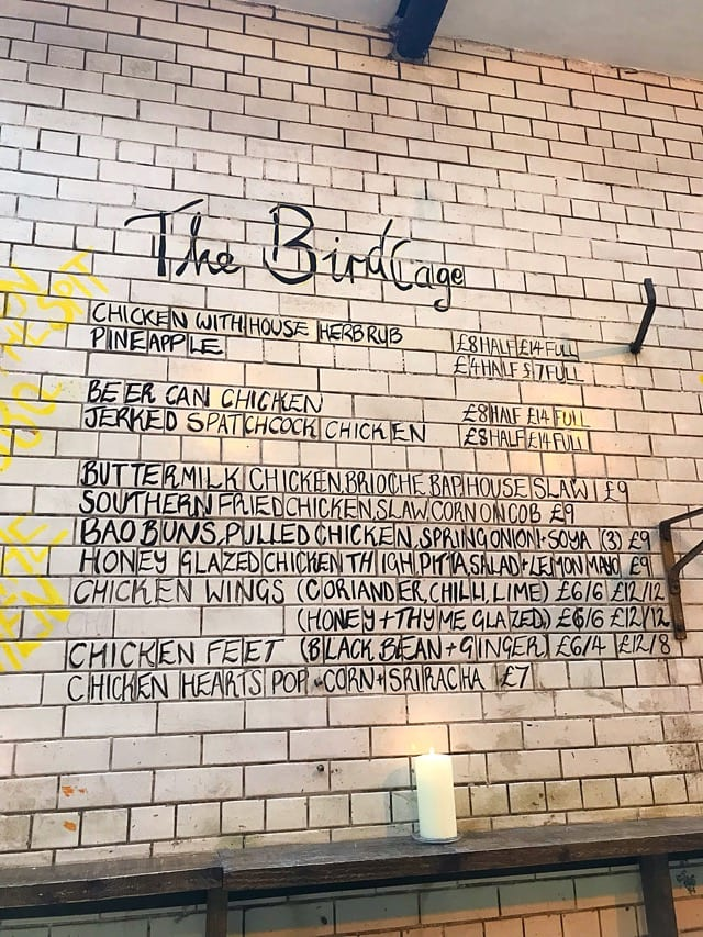 The Birdcage Tontine Lane Glasgow foodie explorers
