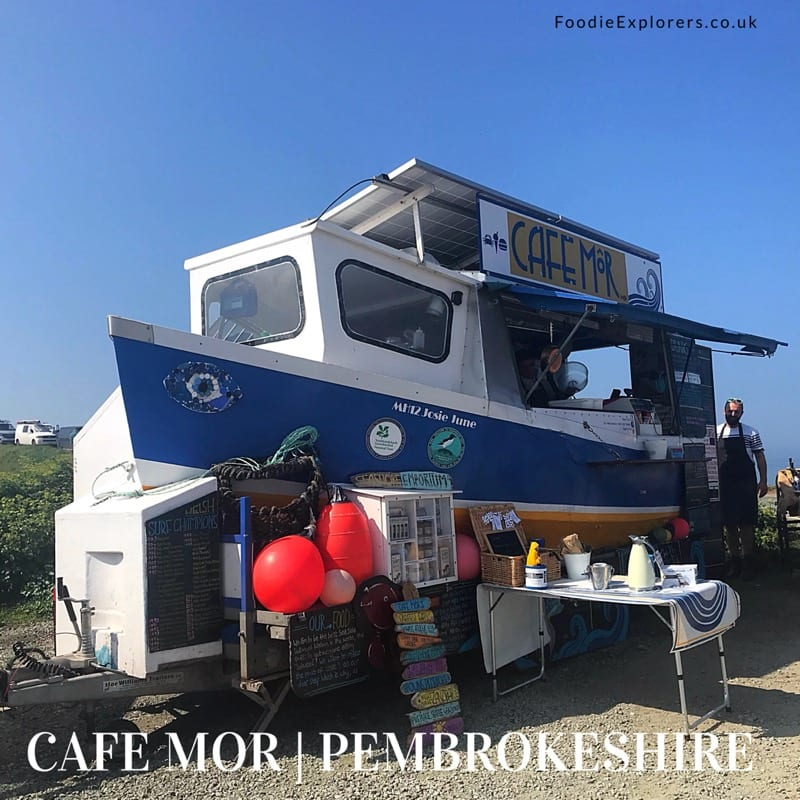 Cafe Mòr pembrokeshire foodie Explorers