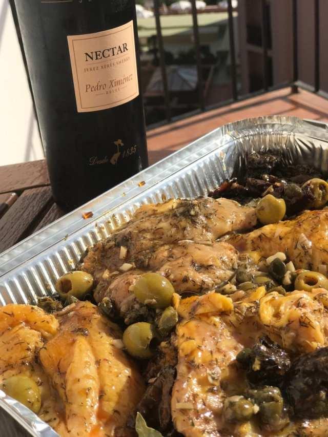 Chicken Marbella recipe Spanish food