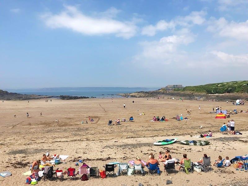 Wavecrest cafe angle beach Pembrokeshire wales foodie explorers