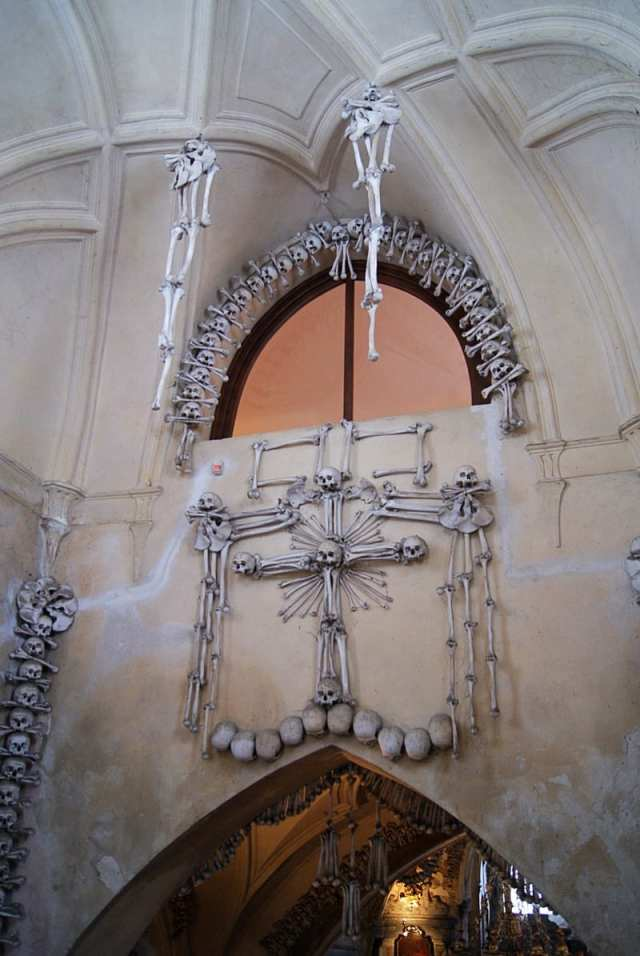 Ossuary Sedlec Kutná Hora Czechia