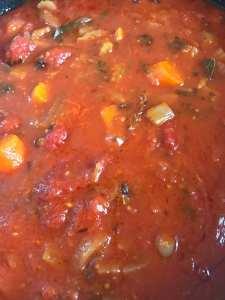 Foodie explorers recipe tomato sauce