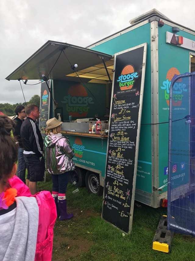 Electric Fields Music Festival Galloway Scotland Food