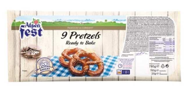 Lidl ready to bake pretzels bretzels