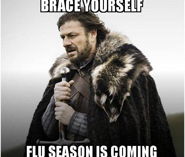 Brace yourself winter flu season