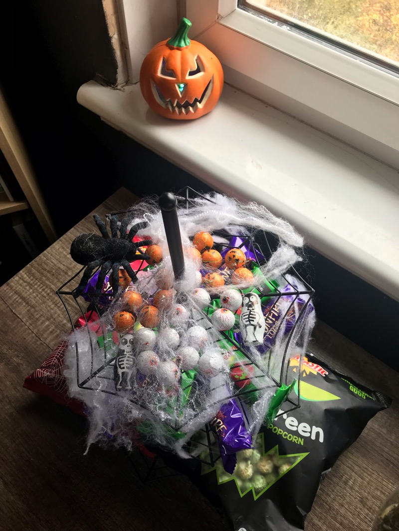 Halloween fun at home