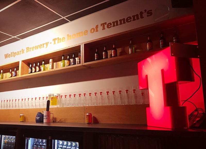 Tennents Lager visitor centre Glasgow