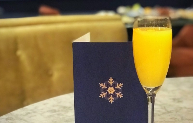 Winter Cocktails at Champagne Central