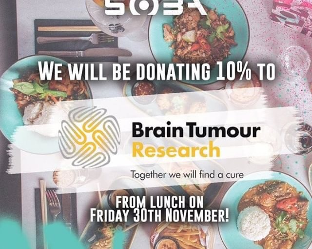 Brain Tumour Research fundraiser