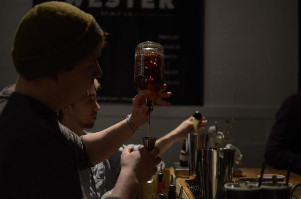 Wester Spirit Launch Party Bar