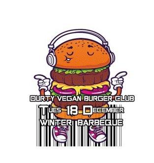 Durty vegan burger club winter bbq