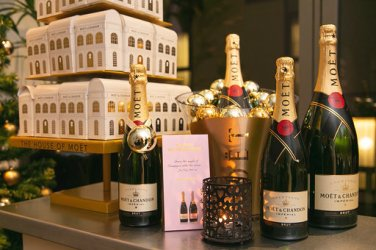 moet and chandon christmas bar blythswood square hotel