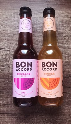 Bon Accord - Rhubarb Soda and Ginger Beer