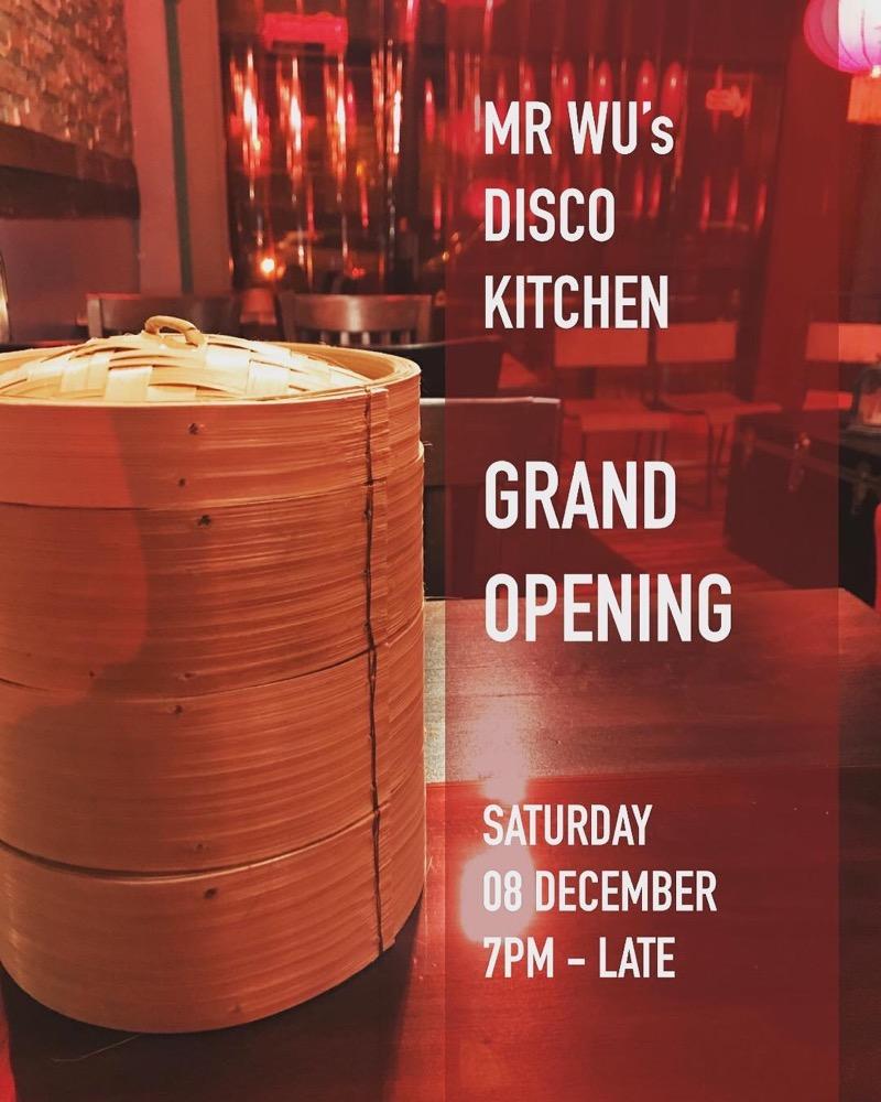 Mr Wu's Disco Kitchen glasgow