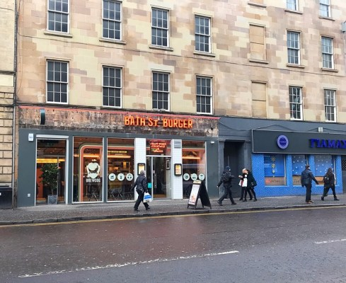 Bath Street burger review foodie explorers