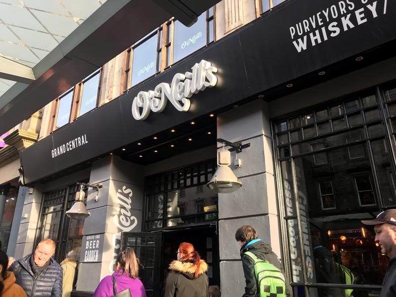 Oneills Glasgow Union Street