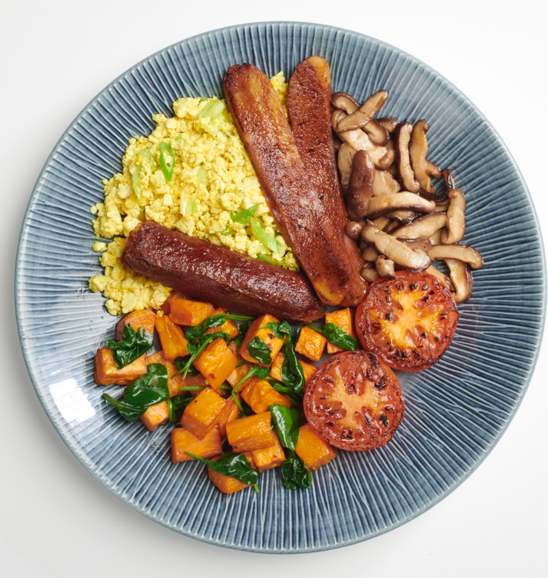 Glasgow foodie Explorers Wagamama vegan breakfast