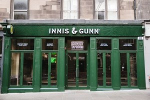 Innis and Gunn Lothian Road edinburgh