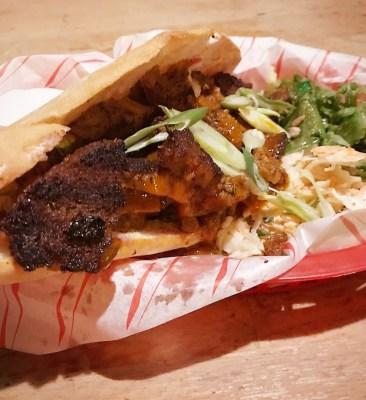 doner kebab vegan  flying duck glasgow foodie explorers