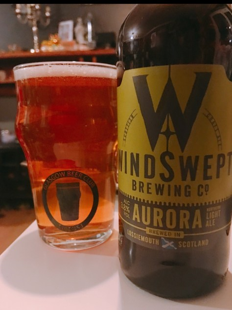 Windswept Brewing co Aurora