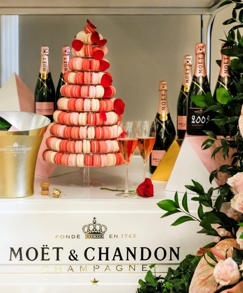 Möet and Chandon Blythswood Square