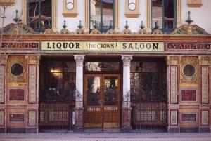 The crown bar Belfast historic pub