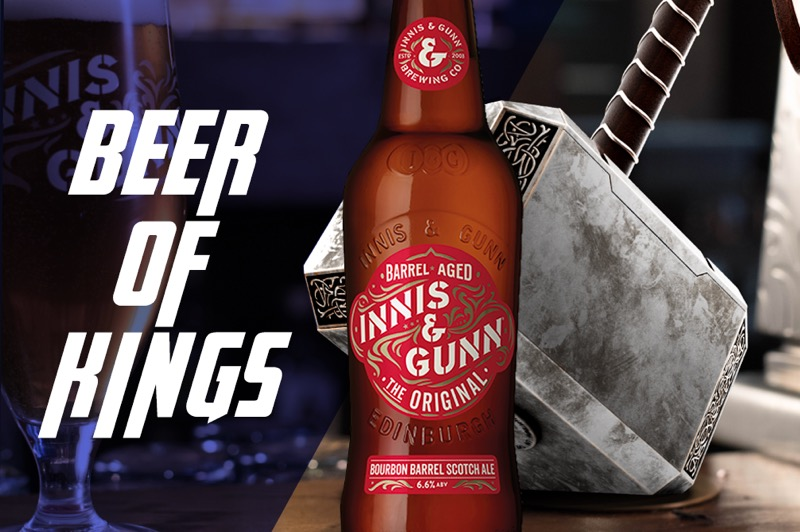 Innis and Gunn avengers endgame
