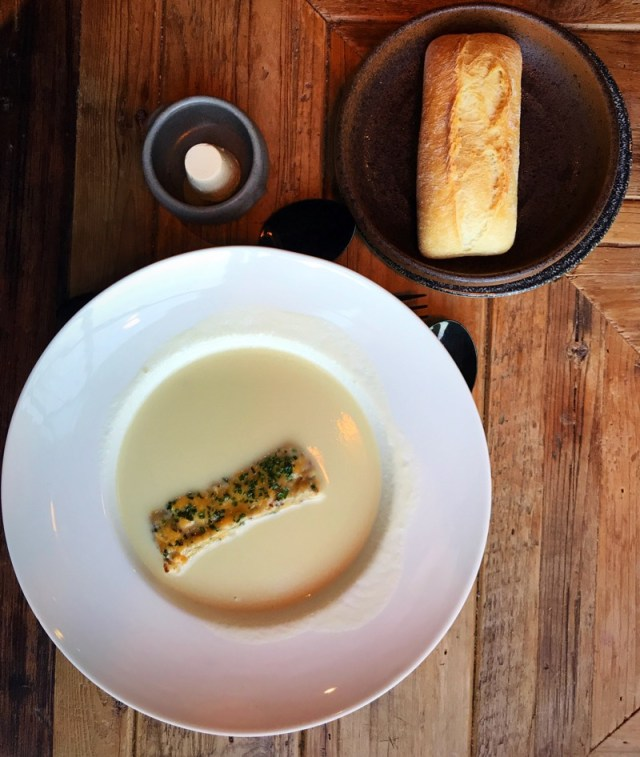 Brasserie Ecosse Dundee beer soup