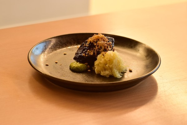 Smoked beef cheek