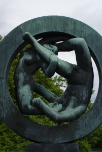 vigeland park oslo wheel of life