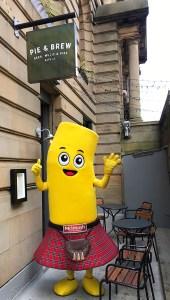 Glasgow city centre Pastaval