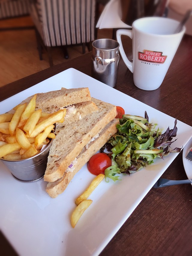 The peppercorn bistro comber food