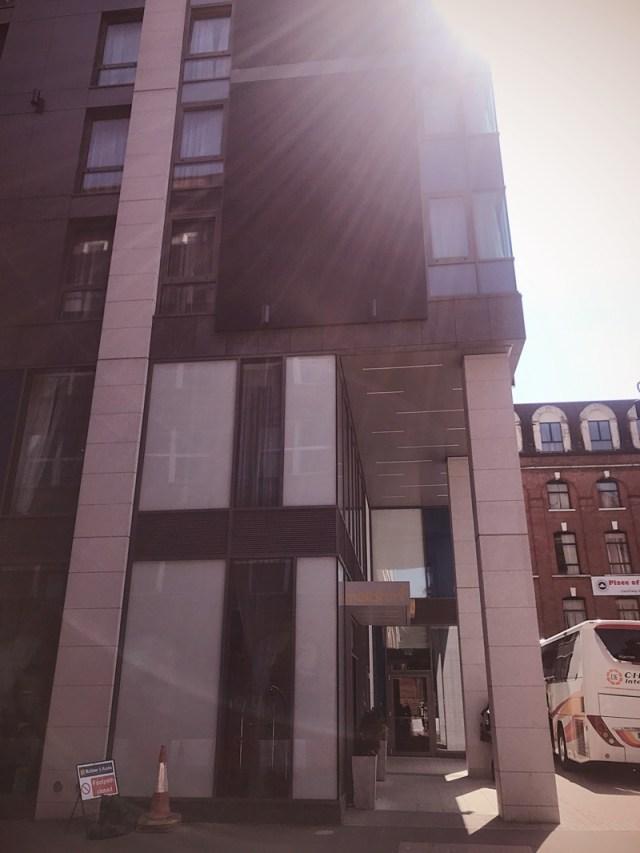 Maldron hotel City Centre Belfast afternoon tea