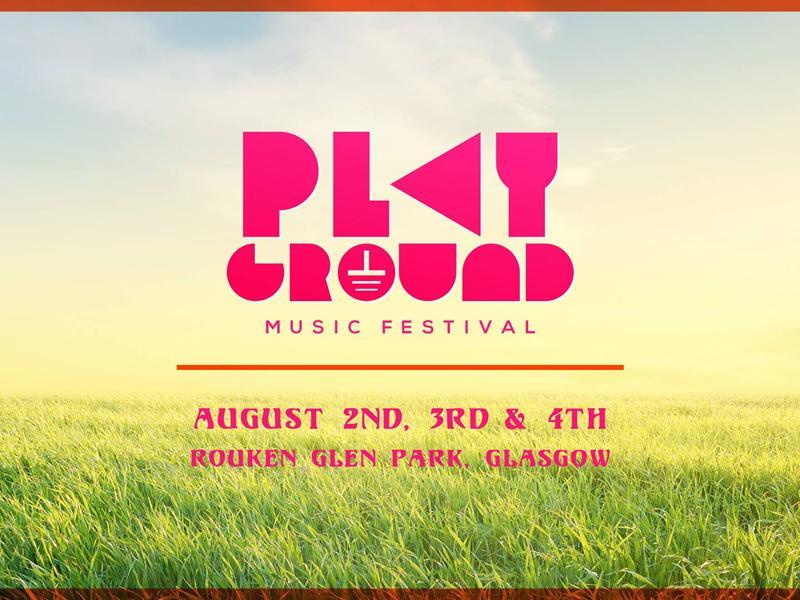 Playground music festival Glasgow