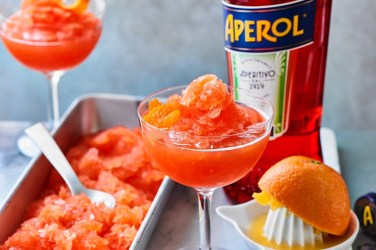 Waitrose Aperol froze cocktail Recipe
